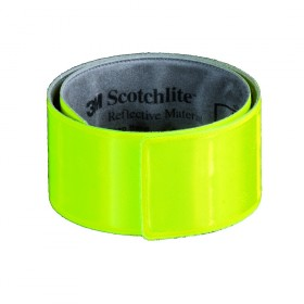 Zelfoprollende fluorescerende armband - snap wrap 34cm x 3cm